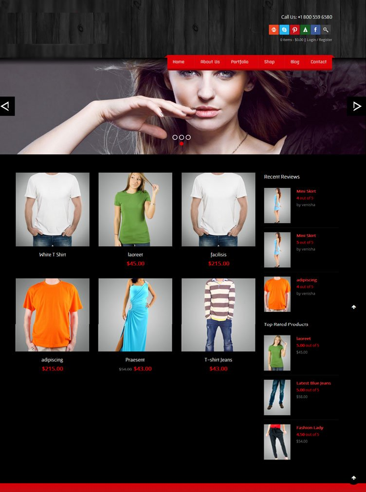 template-fashion