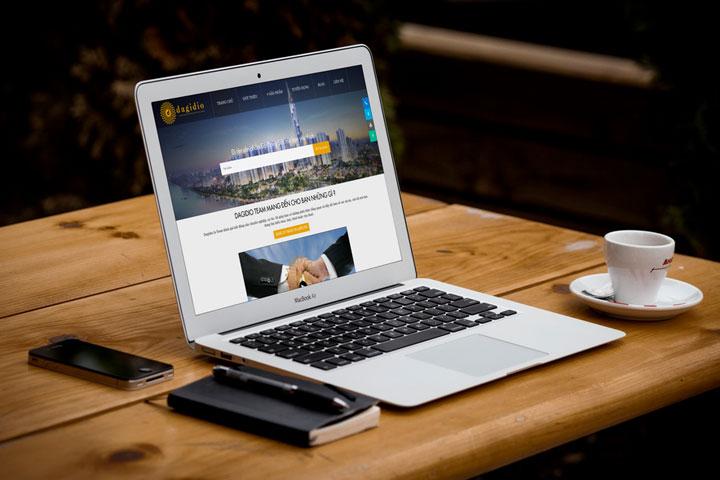 thiết kế website quảng ngãi dagidio