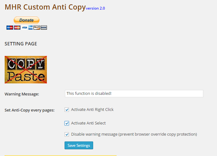 anti copy