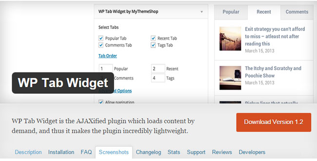 wp-tab-widget