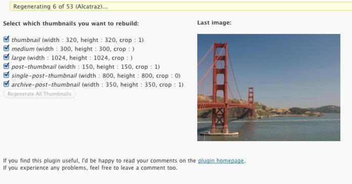 Cách hạn chế plugin wordpress tự động sinh thêm ảnh
